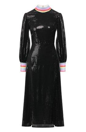 Женское платье с пайетками OLIVIA RUBIN черного цвета, арт. 0R0178/AMELIE DRESS | Фото 1