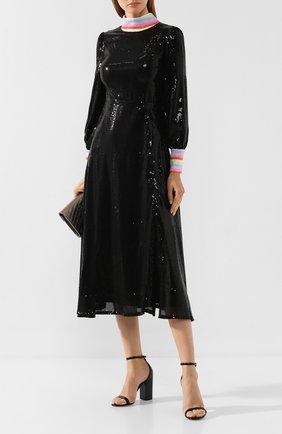Женское платье с пайетками OLIVIA RUBIN черного цвета, арт. 0R0178/AMELIE DRESS | Фото 2