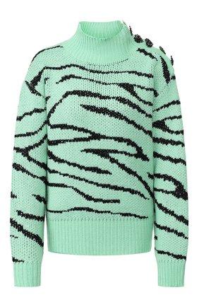 Женская свитер OLIVIA RUBIN зеленого цвета, арт. 0R0185/LYLA JUMPER | Фото 1