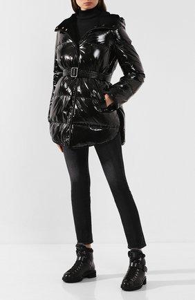 Женский двусторонняя куртка YVES SALOMON черного цвета, арт. 20WYM05187LAD0 | Фото 2