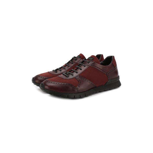 Кожаные кроссовки Kiton — Кожаные кроссовки