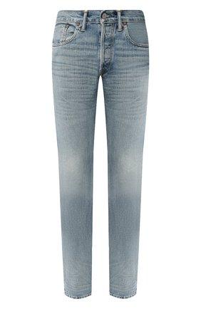 Мужские джинсы RRL голубого цвета, арт. 782504838 | Фото 1