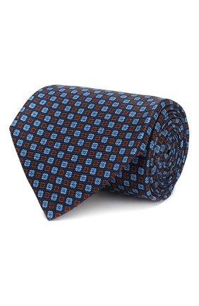 Мужской шелковый галстук KITON разноцветного цвета, арт. UCRVKLC08F11 | Фото 1