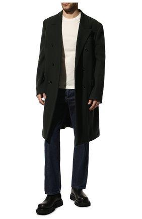 Мужские кожаные челси BOTTEGA VENETA черного цвета, арт. 592081/VIFH0 | Фото 2