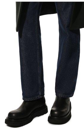 Мужские кожаные челси lug BOTTEGA VENETA черного цвета, арт. 592081/VIFH0 | Фото 3 (Каблук высота: Высокий; Высота голенища: Высокие; Материал внутренний: Натуральная кожа; Подошва: Массивная; Мужское Кросс-КТ: Сапоги-обувь, Челси-обувь; Статус проверки: Проверена категория)