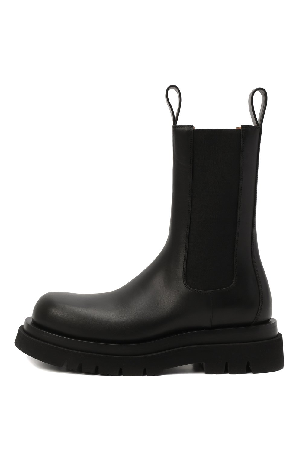 Мужские кожаные челси lug BOTTEGA VENETA черного цвета, арт. 592081/VIFH0 | Фото 4 (Каблук высота: Высокий; Высота голенища: Высокие; Материал внутренний: Натуральная кожа; Подошва: Массивная; Мужское Кросс-КТ: Сапоги-обувь, Челси-обувь; Статус проверки: Проверена категория)