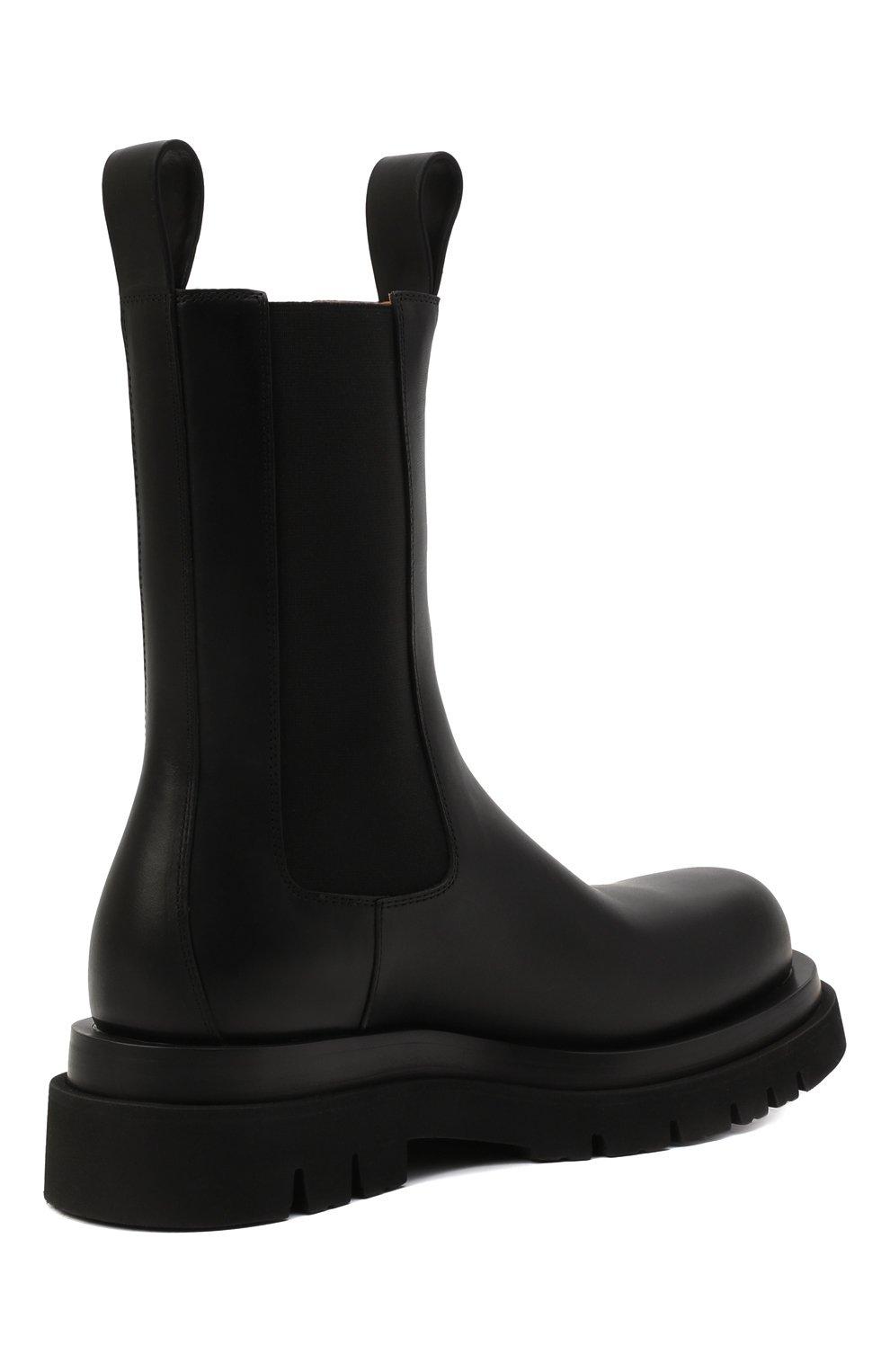 Мужские кожаные челси lug BOTTEGA VENETA черного цвета, арт. 592081/VIFH0 | Фото 5 (Каблук высота: Высокий; Высота голенища: Высокие; Материал внутренний: Натуральная кожа; Подошва: Массивная; Мужское Кросс-КТ: Сапоги-обувь, Челси-обувь; Статус проверки: Проверена категория)