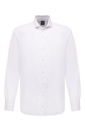 Мужская хлопковая сорочка VAN LAACK белого цвета, арт. MES0-SF/150005 | Фото 1