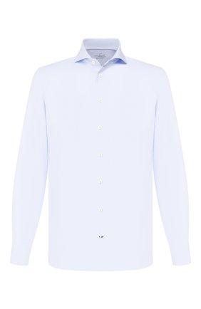 Мужская хлопковая сорочка VAN LAACK голубого цвета, арт. RES0-PSFC6/132383 | Фото 1