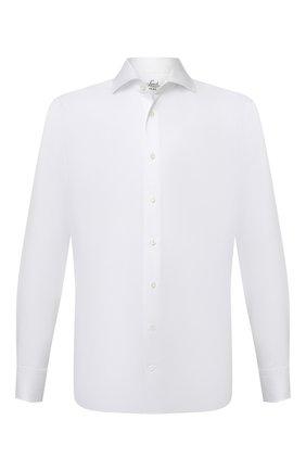 Мужская хлопковая сорочка VAN LAACK белого цвета, арт. RIVARA-SF/130148 | Фото 1