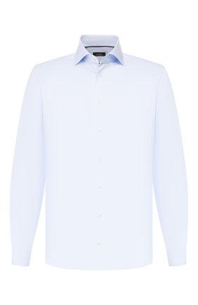 Мужская хлопковая сорочка VAN LAACK голубого цвета, арт. TIVARA2-PTF/150182 | Фото 1