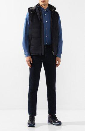 Мужские джинсы Z ZEGNA синего цвета, арт. VT717/ZZ505 | Фото 2