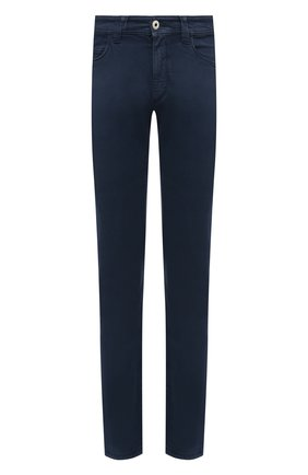 Мужские джинсы LORO PIANA синего цвета, арт. FAG4511 | Фото 1
