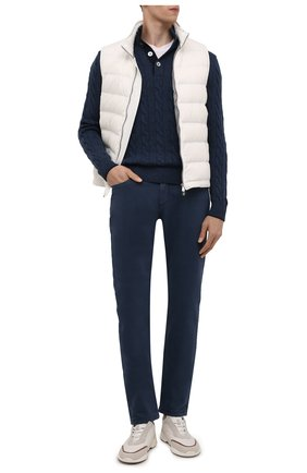 Мужские джинсы LORO PIANA синего цвета, арт. FAG4511 | Фото 2