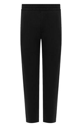 Мужские шерстяные брюки HARRIS WHARF LONDON черного цвета, арт. C7015MYM | Фото 1 (Материал внешний: Шерсть; Статус проверки: Проверено, Проверена категория; Длина (брюки, джинсы): Стандартные; Случай: Повседневный)
