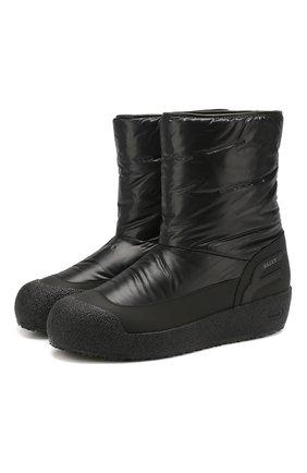 Мужские сапоги BALLY черного цвета, арт. CUPER/00 | Фото 1