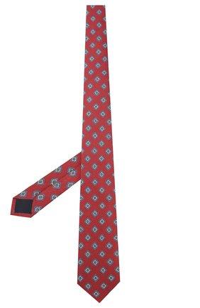 Мужской шелковый галстук ETON бордового цвета, арт. A000 31856 | Фото 2