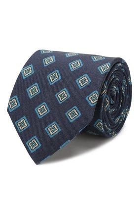 Мужской шелковый галстук ETON синего цвета, арт. A000 31856 | Фото 1