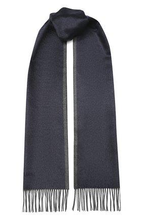 Мужской шелковый шарф CORNELIANI синего цвета, арт. 84B242-9829037/00 | Фото 1