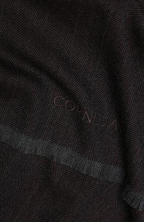Мужской шерстяной шарф CORNELIANI темно-коричневого цвета, арт. 84B373-9829024/00   Фото 2