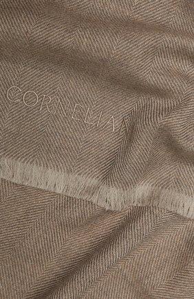 Мужской шерстяной шарф CORNELIANI бежевого цвета, арт. 84B373-9829024/00 | Фото 2