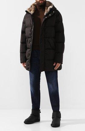 Мужские текстильные сапоги C1 * BERIAN черного цвета, арт. C1 A701 | Фото 2