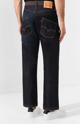 Мужские джинсы JUNYA WATANABE темно-синего цвета, арт. WD-P209-051 | Фото 4