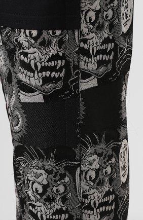 Мужские шерстяные брюки COMME DES GARCONS HOMME PLUS черного цвета, арт. PD-P013-051 | Фото 5