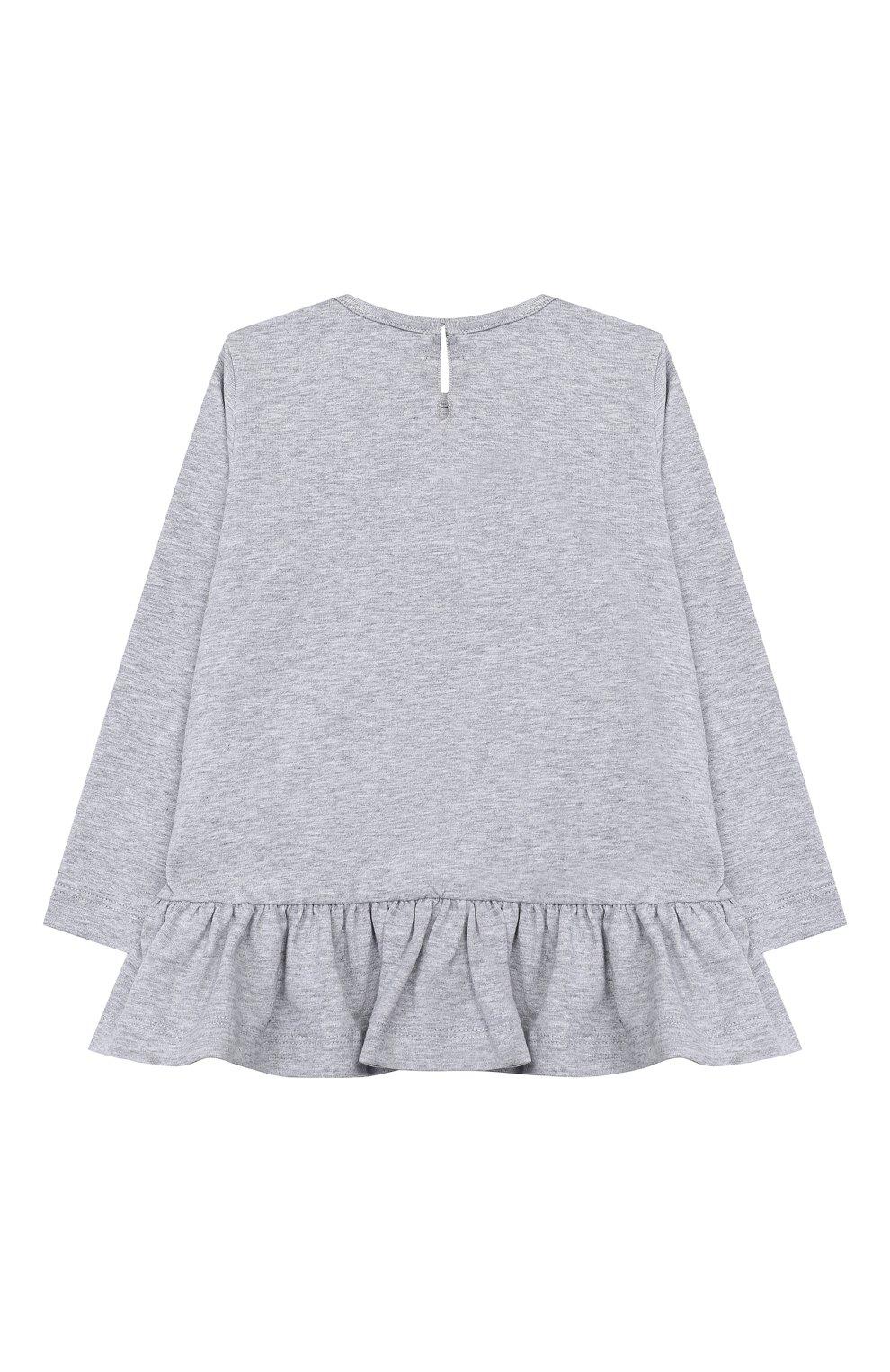 Женский платье MONNALISA серого цвета, арт. 314627PZ | Фото 2