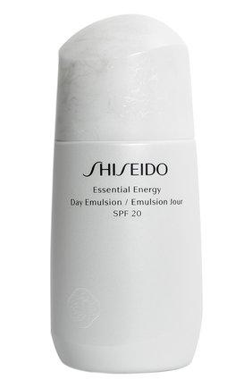 Дневная энергетическая эмульсия essential energy (75ml) SHISEIDO бесцветного цвета, арт. 14324SH | Фото 1 (Статус проверки: Проверена категория)