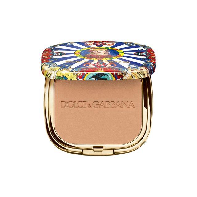 Ультралегкая бронзирующая пудра Solar Glow, 20 Sand Dolce & Gabbana