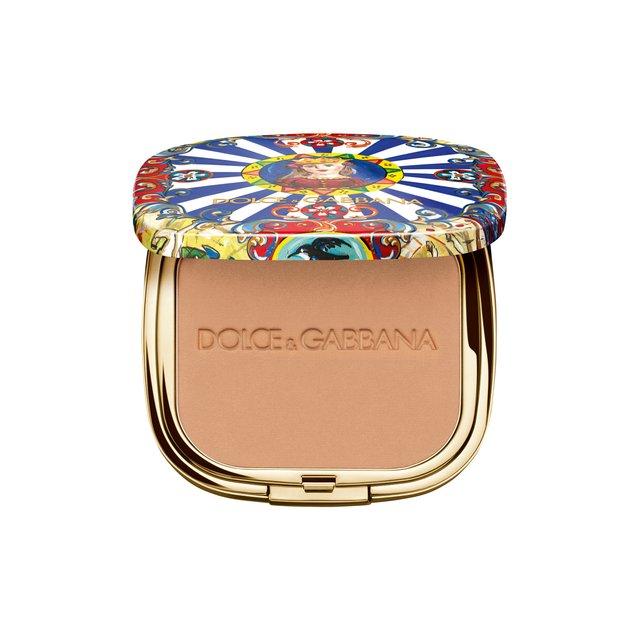 Ультралегкая бронзирующая пудра Solar Glow, 30 Sunrise Dolce & Gabbana