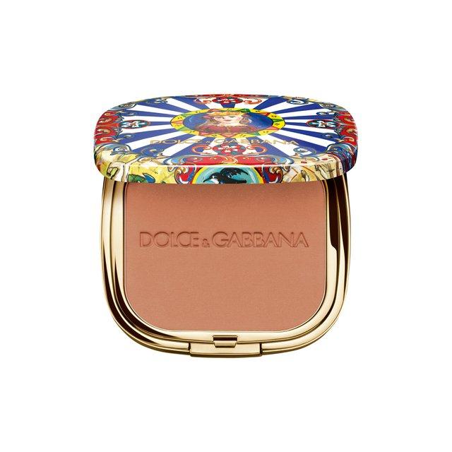 Ультралегкая бронзирующая пудра Solar Glow, 40 Desert Dolce & Gabbana
