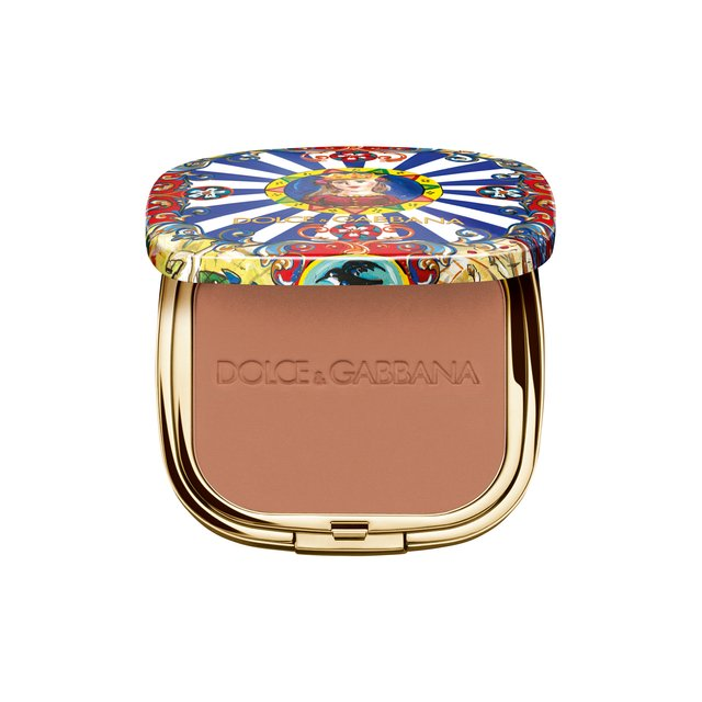 Ультралегкая бронзирующая пудра Solar Glow, 60 Sunset Dolce & Gabbana