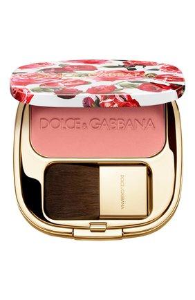 Женские румяна с эффектом сияния blush of roses, 400 peach DOLCE & GABBANA бесцветного цвета, арт. 8569250DG | Фото 1