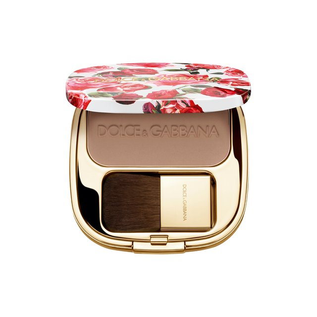 Румяна с эффектом сияния Blush Of Roses, 100 Tan Dolce & Gabbana
