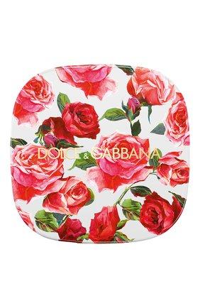 Женские румяна с эффектом сияния blush of roses, 110 natural DOLCE & GABBANA бесцветного цвета, арт. 8518250DG | Фото 2