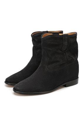 Женские замшевые ботинки crisi ISABEL MARANT темно-серого цвета, арт. CRISI/B00103-00M103S | Фото 1