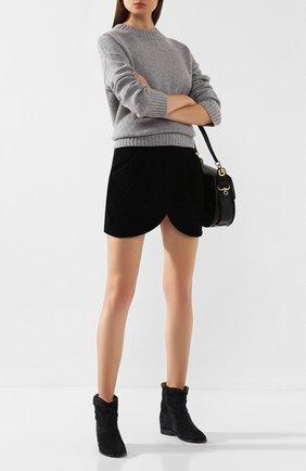 Женские замшевые ботинки crisi ISABEL MARANT темно-серого цвета, арт. CRISI/B00103-00M103S | Фото 2