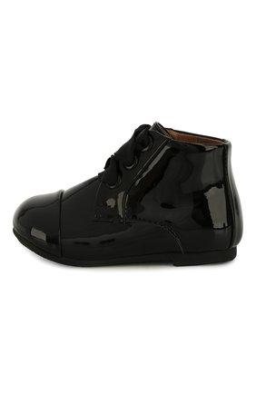 Детские кожаные ботинки AGE OF INNOCENCE черного цвета, арт. 000016/JANE PL/20-26 | Фото 2