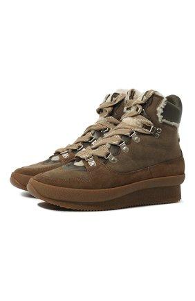 Замшевые ботинки Brendty | Фото №1