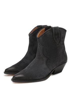 Замшевые ботинки Dewina | Фото №1