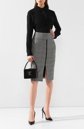 Женская сумка box TOM FORD черного цвета, арт. L1231T-LCL056   Фото 2