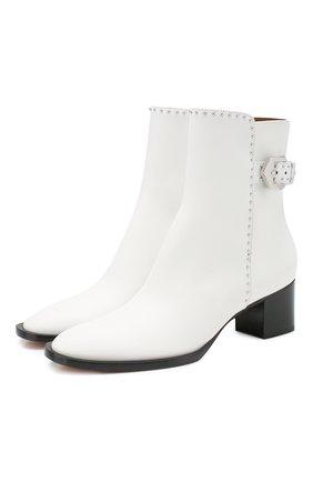 Кожаные ботинки Elegant Studs | Фото №1