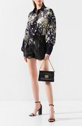 Женская сумка gv3 small  GIVENCHY черного цвета, арт. BB501CB0LT | Фото 2