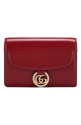 Женская сумка gg ring small GUCCI красного цвета, арт. 589474/1DB0G | Фото 1