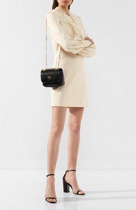 Женская сумка marina GUCCI черного цвета, арт. 576423/1DB0X | Фото 2