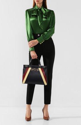 Женская сумка gucci zumi medium GUCCI бежевого цвета, арт. 564714/05JDX | Фото 2