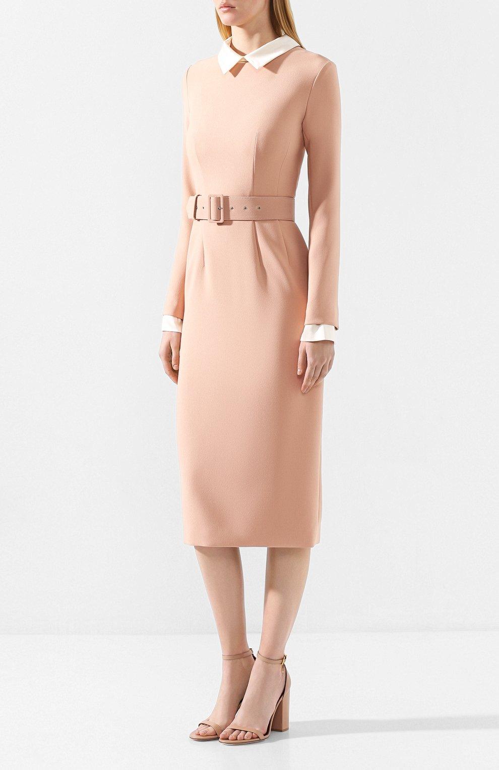 Платье с поясом | Фото №3