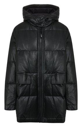 Женский пуховая куртка YS ARMY PARIS черного цвета, арт. 20WFV02676D0CU | Фото 1